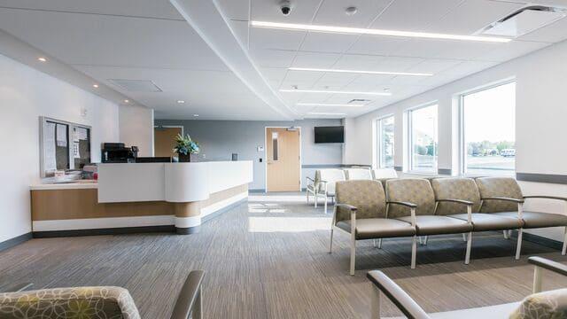Ghế băng chờ bệnh viện