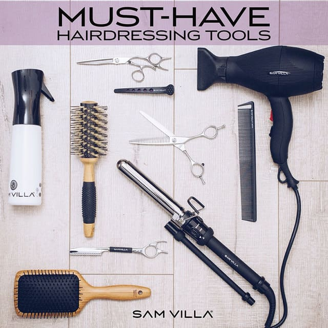 Các thiết bị cần thiết để mở salon tóc
