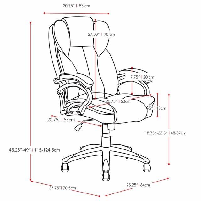 Cấu tạo ghế xoay văn phòng