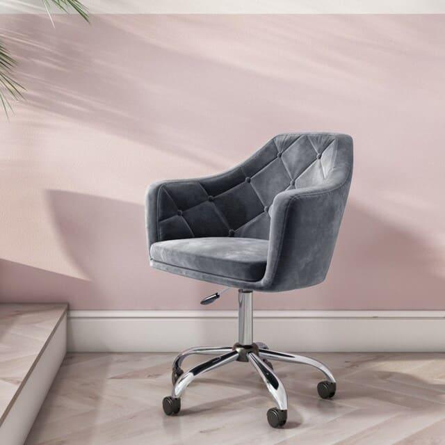 Vải nỉ là một chất liệu hàng đầu cho ghế văn phòng